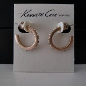 Kenneth Cole New York Páve Earrings